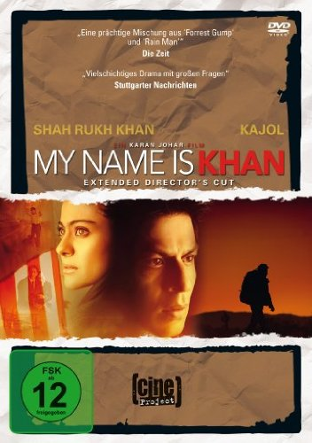 DVD - My Name Is Khan (Extended Director's Cut) (cine Project)