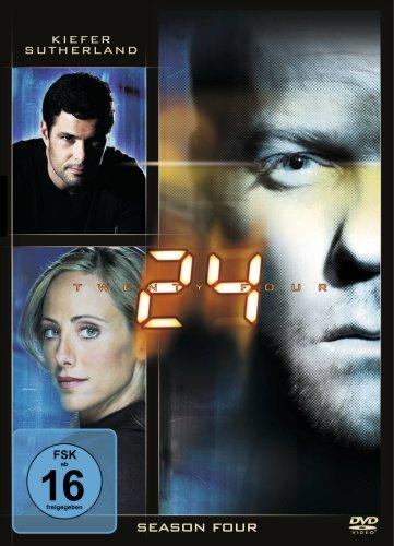 DVD - 24 - Staffel 4 (Spindel Box)