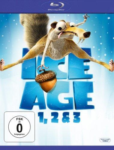 Blu-ray - Ice Age 1, 2 & 3