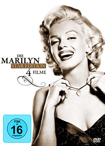 DVD - Die Marilyn Star Edition (Blondinen Bevorzugt / Manche mögen's Heiss / Das verflixte 7. Jahr / Wie angelt man sich einen Millionär)