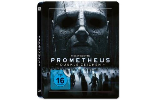 Blu-ray - Prometheus - Dunkle Zeichen (  Blu-ray 3D) (Limited Steelbook/3D-Lenticular-Cover Edition)