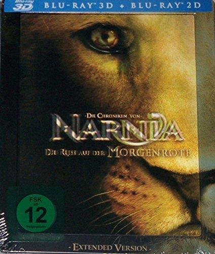 Blu-ray - Die Chroniken von Narnia: Die Reise auf der Morgenröte 3D (Extended Version) (Blu-ray)