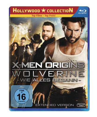 DVD - X-Men Origins Wolverine - Wie alles begann (Extended Version)