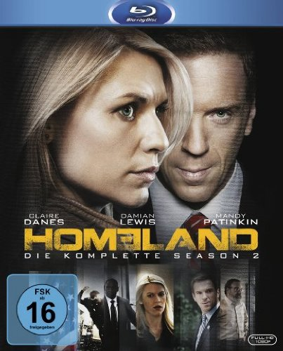 Blu-ray - Homeland - Staffel 2