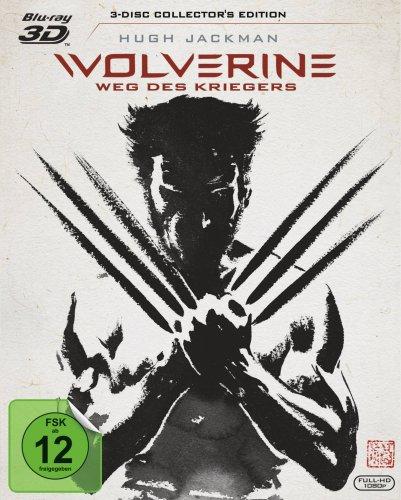 Blu-ray - Wolverine - Weg des Kriegers 3D (+ Extended Cut 2D) (3-Disc Collector's Edition)