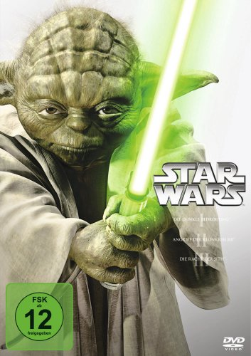 DVD - Star Wars - Trilogie: Episode 1 - 3