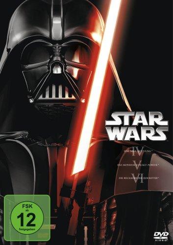 DVD - Star Wars - Trilogie: Episode 4 - 6