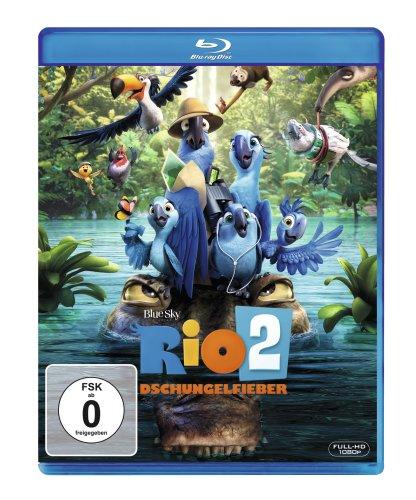 Blu-ray - Rio 2 - Dschungelfieber