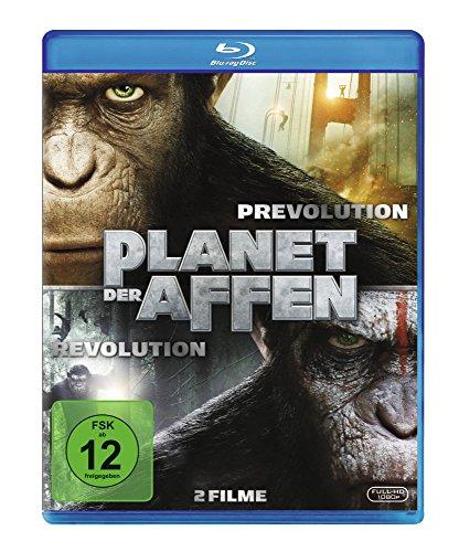 Blu-ray - Planet der Affen - Prevolution & Revolution