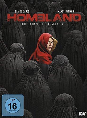 DVD - Homeland - Die komplette Season 4 [4 DVDs]