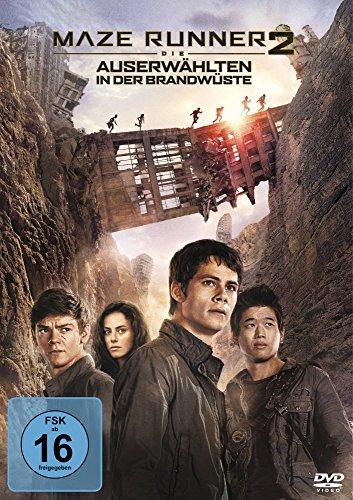 DVD - Maze Runner - Die Auserwählten in der Brandwüste