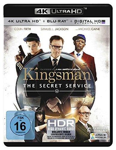 Blu-ray - Kingsman - The Secret Service Ultra HD (  Blu-ray)