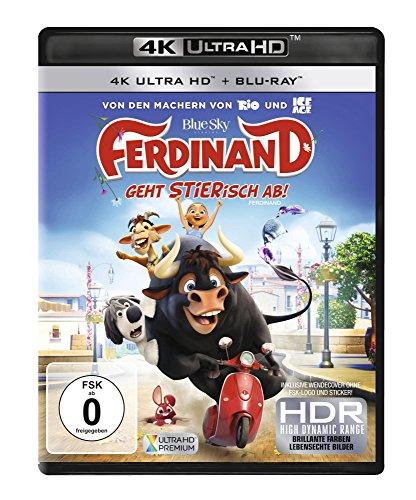 Blu-ray - Ferdinand geht STIERisch ab! Ultra HD (  Blu-ray)