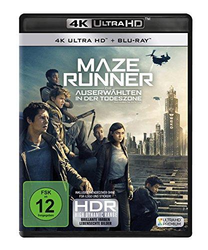 Blu-ray - Maze Runner: Die Auerwählten in der Todeszone Ultra HD (  Blu-ray)