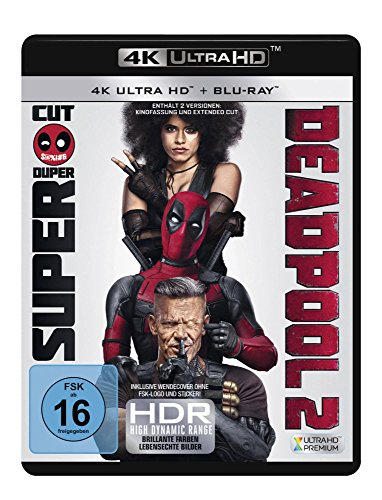Blu-ray - Deadpool 2 Ultra HD (  Blu-ray) (2 4K Ultra HD   2 Blu-ray) (Super Duper Cut Edition)