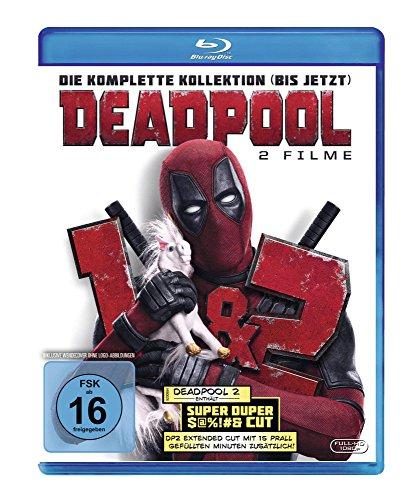 Blu-ray - Deadpool 1+2 [Blu-ray]