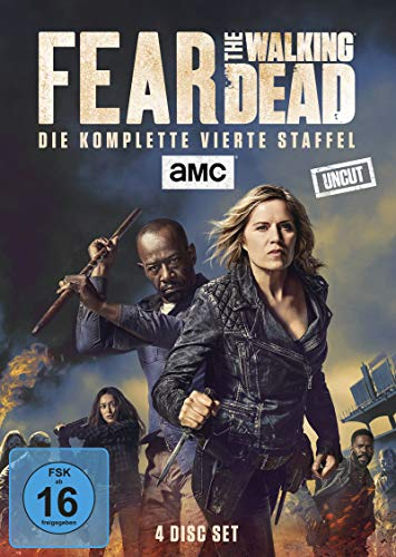 DVD - Fear the Walking Dead - Die komplette vierte Staffel - Uncut [4 DVDs]