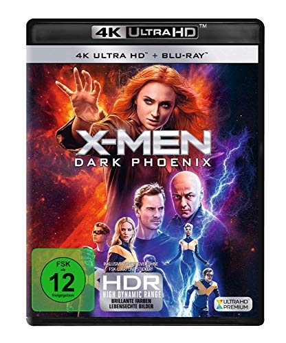 Blu-ray - X-Men: Dark Phoenix Ultra HD (  Blu-ray)
