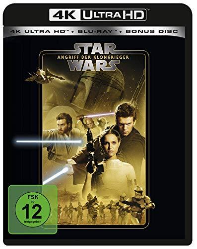 Blu-ray - Star Wars: Angriff der Klonkrieger Ultra HD (  Blu-ray) (Line Look 2020)