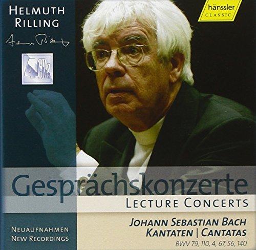 Rilling , Helmuth - Gesprächskonzerte / Lecture Concerts - Bach: Kantaten/Cantatas BWV: 79, 110, 4, 67, 56, 140