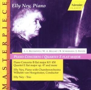 Ney , Elly - Mozart: Piano Concerto, KV 450; Schumann Quartet, Op. 47; Haydn: Rondo; Beethoven: Minuet, Op. 1; Allegro, Op. 7; 6 Variations