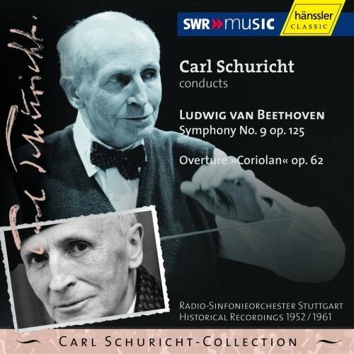 Beethoven , Ludwig van - Symphony No. 9, Op. 125 / Overture 'Coriolan', Op. 62 (Schuricht)