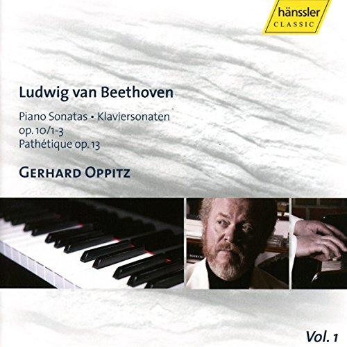 Beethoven , Ludwig van - Piano Sonatas, Op. 10/1-3 / Pathetique, Op. 13 (Oppitz)