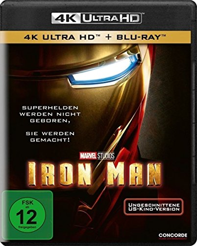 Blu-ray - Iron Man (Uncut) Ultra HD (  Blu-ray)