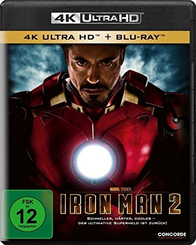 Blu-ray - Iron Man 2 Ultra HD (  Blu-ray)