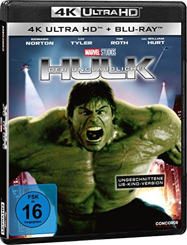 Blu-ray - Der unglaubliche Hulk Ultra HD (  Blu-ray) (Marvel) (Uncut US-Cinema-Version)