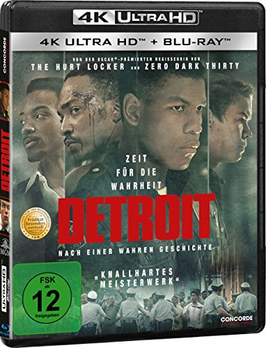 Blu-ray - Detroit Ultra HD (  Blu-ray)