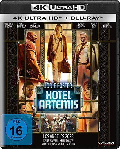Blu-ray - Hotel Artemis  (4K Ultra HD) (+ Blu-ray 2D)