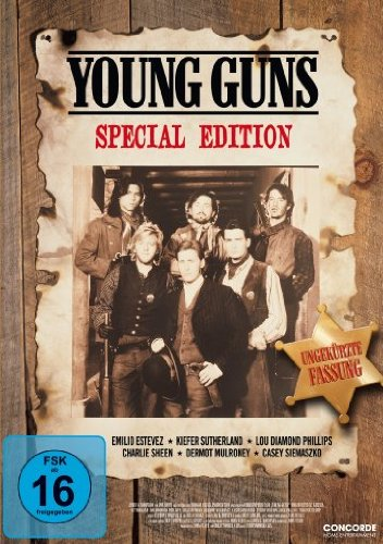 DVD - Young Guns (Special Edition, Ungekürzte Fassung)