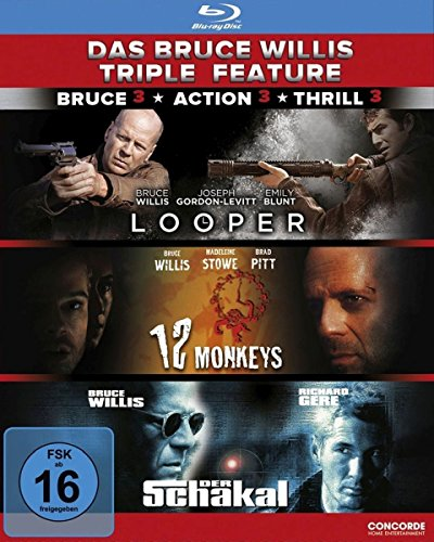 Bruce Willis, Bruce Willis - Das Bruce Willis Triple Feature [Blu-ray]