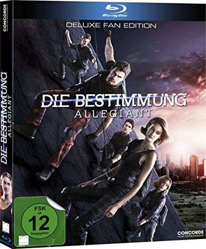 Blu-ray - Die Bestimmung - Allegiant (Deluxe Fan Edition)