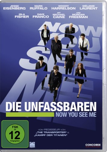 DVD - Die Unfassbaren - Now You See Me (Extended Edition)