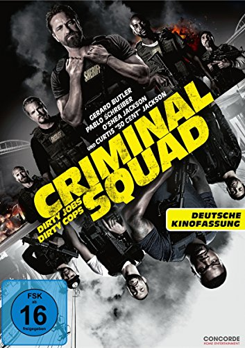 DVD - Criminal Squad - Dirty Jobs Dirty Cops