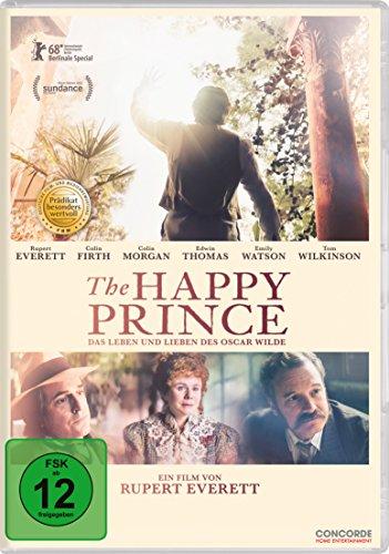 DVD - The Happy Prince - Das Leben und Lieben des Oscar Wilde