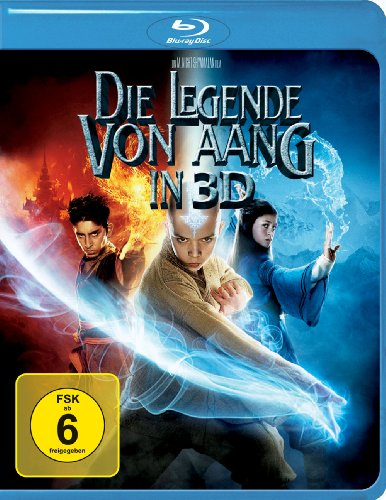 Blu-ray - Die Legende von Aang 3D