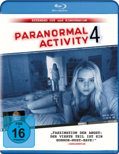 Blu-ray - Paranormal Activity 4 (Extended Cut & Kinoversion)