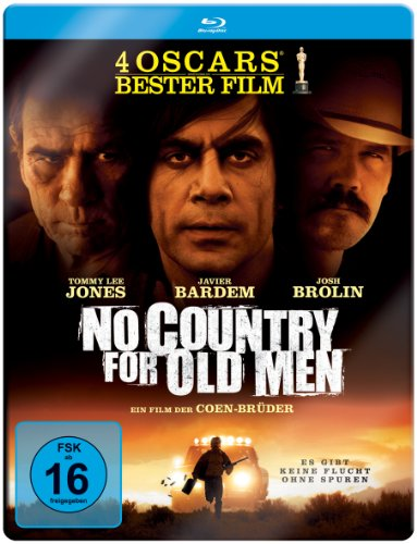 Blu-ray - No Country For Old Men (Limited Steelbook Edition)