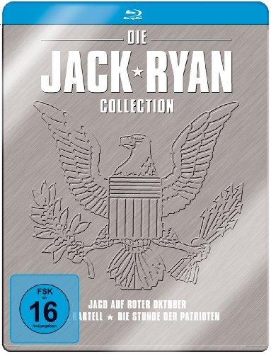 - Jack Ryan Collection (3 Discs, Steelbook) [Blu-ray]