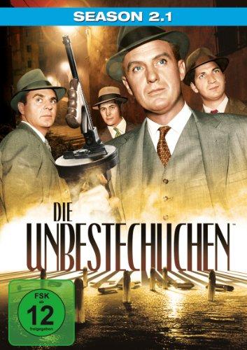 DVD - Die Unbestechlichen - Staffel 2.1