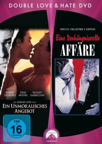 DVD - Ein unmoralisches angebot / Eine verhängnisvolle affäre