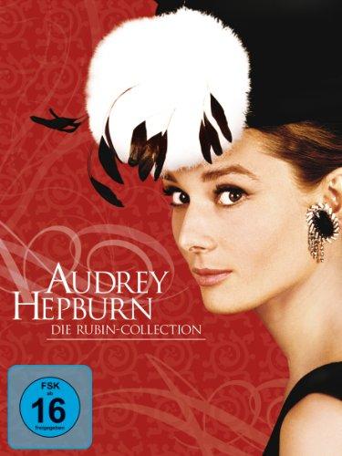 DVD - Audrey Hepburn - Die Rubin-Collection (5DVD-Box Set)