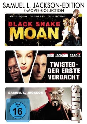 DVD - Black Snake Moan / Twisted - Der erste Verdacht / Shaft (Samuel Jackson-Edition) (3 Movie Collection)