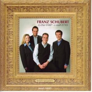 Schubert , Franz - Streichquartett D 887 / Quartettsatz D 703 (Rodin-Quartett)