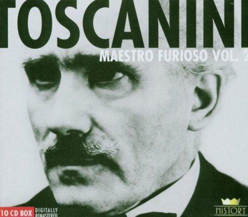 Toscanini , Arturo - Maestro Furioso 2 (Remastered) (10 CD BOX)