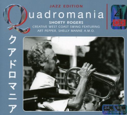 Shorty Rogers - Creative West Coast Swing (Jazz Edition Quadromania)