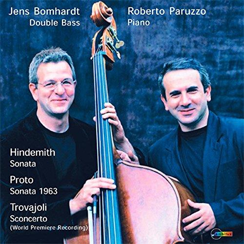Bomhardt , Jens / Paruzzo , Roberto - Hindemith: Sonata, Proto: Sonata 1963, Trovajoli: Sconcerto
